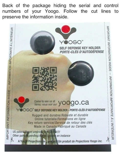 CAMO SAND YOOGO SAFETY KEYCHAIN NO 01